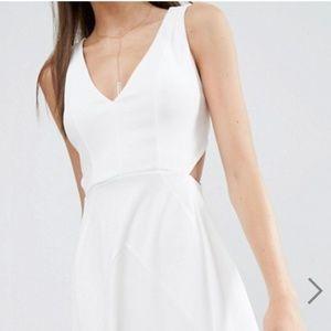 Long white dress from asos